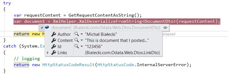 Accept XML request in ASP Net MVC Controller - Michał