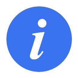 Info Icon Michal Bialecki Blog